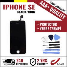 AAA+ LCD SCREEN SCHERM ÉCRAN BLACK NOIR &VERRE TREMPÉ+TOOLS FOR IPHONE SE/5S