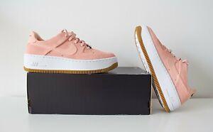 NIKE Air Force 1 Sage Low Rosa Damen Sneaker GR. 38 US 7 NEU & OVP AR5339 603