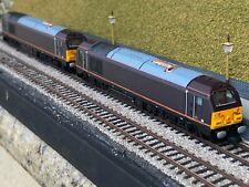 Dapol n gauge ND-101A & ND-101K EC In Boxes Class 67 Royal Train 67006 67005