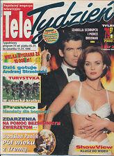 TELE TYDZIEN 96/02 (11/1/96) JAMES BOND IZABELLA SCORUPCO PIERCE BROSNAN WEAVER