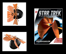 Star Trek Deep Space Nine Bajoran Solar Sailor Ship Eaglemoss w Mag