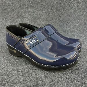 Koi By Sanita Blue Lindsey Slip On Nursing Clogs Shoes Women's Size 39 US 8.5