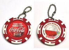 Coca-Cola Catena chiave dal Giappone Key Chain FIFA World Cup 2006 Poland