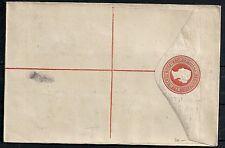 British Guiana  Registered Letter not sent