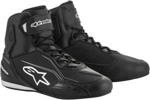 Faster 3 Riding Shoes Alpinestars Black White 11