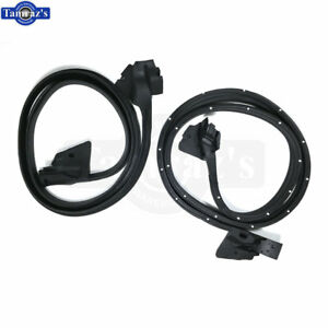 78-88 A/G Body - Door Weatherstrip Seals OE Style Quality Better Fit PAIR - USA