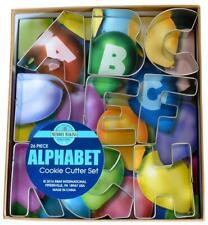 Alphabet Deluxe Cookie Cutter Set - 26 Piece