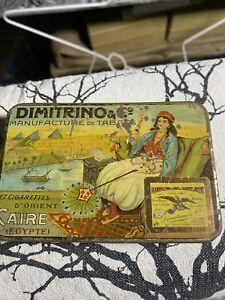 Dimitrino Manufacture De Tabacs Tin