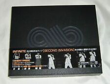 INFINITE SECOND INVASION 1ST CONCERT LIVE IN SEOUL 3DVDs+Photo book JAPAN ver.