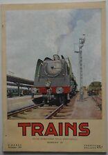Trains n°16- 1953 : Revue Belge - Rails de Belgique Congo Tunnel sous la manche