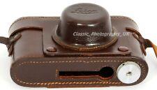 "Ultra Rare ORIGINAL Leica Case for Leica IIIF or IIIC with LEICAVIT / SYOOM 1/4"""