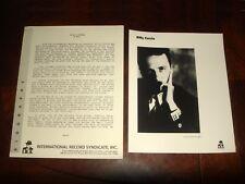 "Rare ULTRAVOX BILLY CURRIE ""Transportation"" 1988 I.R.S. RECORDS PRESSKIT + PHOTO"