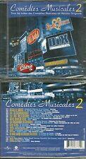 CD - COMEDIES MUSICALES avec NOTRE DE DAME DE PARIS, ROMEO JULIETTE, TYCOON NEUF