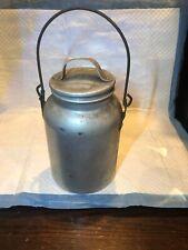 Vintage Mirro Aluminum Cream/Milk Can 2 Qt. USA