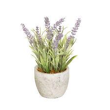 Artificial Lavender in a Pot 20cm/7.75 Inches