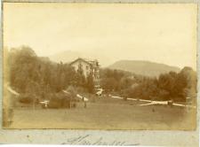 Suisse, Alpes bernoises, Gerzensee, ca.1900, vintage citrate print Vintage citra