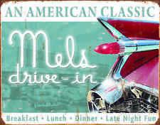 Mels Diner Classic #1677  Vintage Reproduction Metal Sign mancave garage