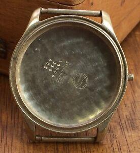 Cyma 14506 316 583 Case Caja 37,8 mm Body Swiss Vintage Stainless Steel Watch