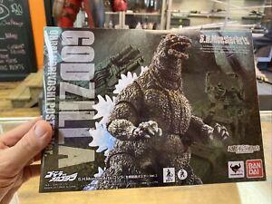 S.H.MonsterArts Godzilla Yoshinori Ohrai Poster Version Action Figure Bandai
