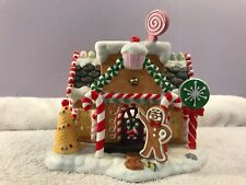 Party Lite Candle House Gingerbread Village #1 Ch4752