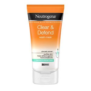 Neutrogena Clear & Defend Wash-Mask, 150ml