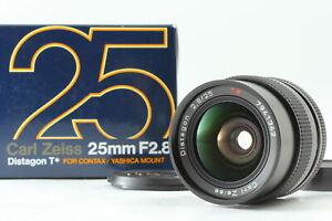 [Top Mint Box] CONTAX Carl Zeiss Distagon T* 25mm f2.8 MMJ Lens From Japan