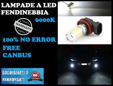 AUDI A1 LAMPADE FENDINEBBIA H11 LED CREE CON RESISTENZA CANBUS 6000K
