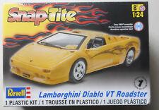 1/24 Lamborghini Diablo VT Roadster Snap Tite REVELL MODEL KIT SKILL LEVEL 1