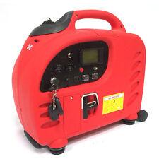 2200W Digital SineWave Inverter Gas Powered Generator Remote Electric Start LCD