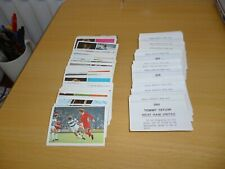 FKS SOCCER STARS 1976/77 individual stickers lots available....2 for £1