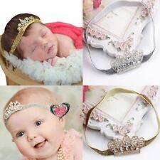 Tiara Tiara Rhinestone Baby Headwear Baby Hair Band Crown Zone Hairband Hot