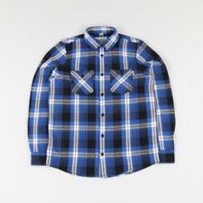 Flannel Collared Long Sleeve Casual Shirts & Tops for Men