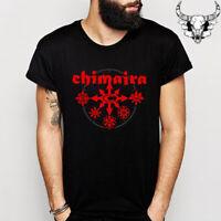 Chimaira Logo Men's Black T-Shirt Size S to 3XL