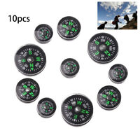 Button Design Camping Hiking Tool Practical Guider Outdoor Accurate Compass