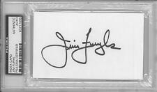 Jim Furyk Signed Authentic Autographed 3x5 Index Card Slabbed PSA/DNA #83717695
