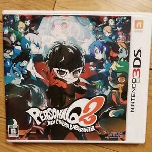 used Persona Q2: New Cinema Labyrinth Nintendo 3DS Game software