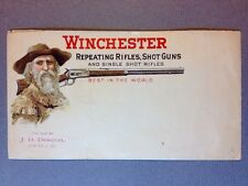 "RARE 1899 ORIGINAL WINCHESTER MODEL 1886 ""OLD HUNTER"" UNUSED DEALER COVER"