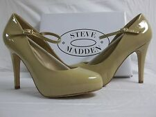Steve Madden Size 9.5 M Realize Blush Patent Leather Mary Janes New Womens Shoes