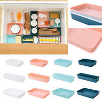 Plastic Drawer Desk Draw Storage Tray Office/Home Kitchen Organizer Box Case