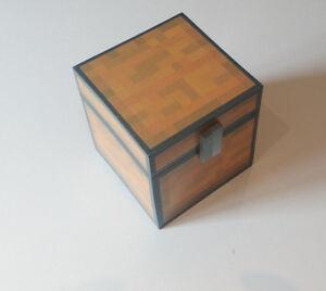 Mine craft inspired chest (unofficial) handmade