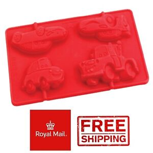 Disney Cars Silicone Lollipop Mould Baking Chocolate Cake Decoration Mold Shapes
