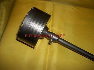 FRESA A TAZZA 120mm CAROTATRICE CON ASTA SDS PLUS 50cm  CALCESTRUZZO CEMENTO