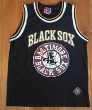 Vintage Negro League Baltimore Black Sox Basketball Jersey - Adult Large - RARE!
