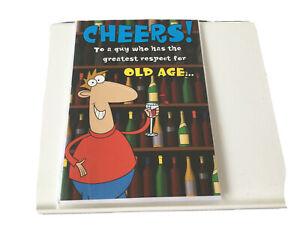 humourous birthday card male