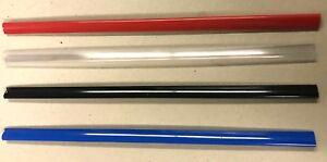 A5 SLIDE BINDERS 5MM CAP-round edges-5 COLOURS- QTY 10 - 25 - 50 -100