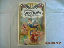 Snow White and the Seven Dwarfs VHS 1994 Masterpiece Edition Walt Disney Studio