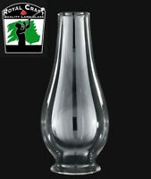 "2 5/8"" X 8"" ~ Clear Borosilicate GLASS  Oil Lamp ~ LIP FITTER CHIMNEY ~ #G7802"