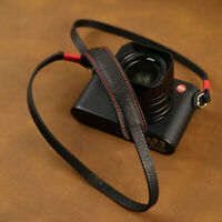 Genuine Leather Camera Strap Belt For Canon Nikon Sony Fujifilm Leica Pentax