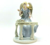 Member's Mark Angel Figure Holiday Collection Christmas Hand Painted Porcelain