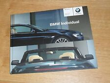 BMW 6 Series Coupe & Convertible Individual Hardback Brochure 2004